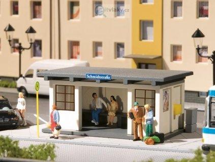 H0 - 2 autobusové čekárny / Auhagen 11419