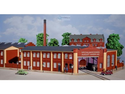 H0 - Továrna s velkou bránou / Auhagen 11421