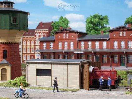 H0 - Depo pro malé lokomotivy / Auhagen 11429