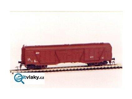 TT - Krytý vůz Gags/Za, ČSD - sestavený model / 11951 DETAIL