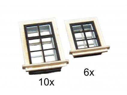 TT - Okenní komplet - malý set / IGRA MODEL 120004
