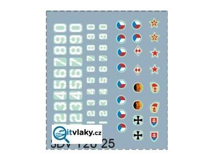 TT obtisky armáda Varšavská smlouva / SDV Model 12025