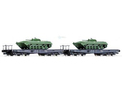 TT - set dvou vozů Salp, ČSD + 2ks  BVP ČSLA / Tillig 01606
