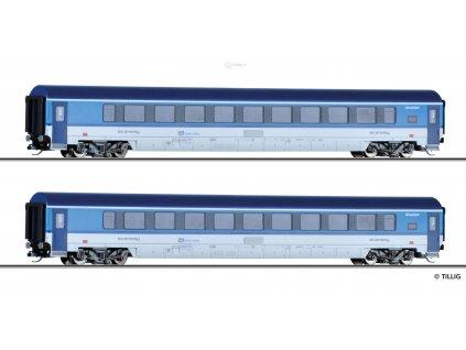 """TT - set dvou vozů """"Railjet"""" ČD, Ep. VI / Tillig 01780"""