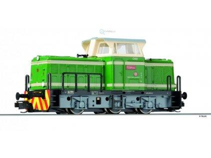TT - dieselová lokomotiva T334.024 zelená, ČSD rosnička/ TILLIG 04611