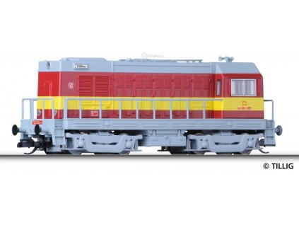ARCHIV CZ TT - lokomotiva ř 720.093-4 ŽSR HEKTOR / 04625 Tillig