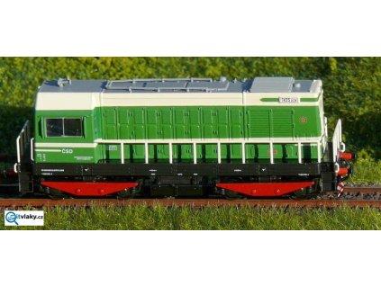 ARCHIV TT - lokomotiva T435.0139 -  HEKTOR zelená, ČSD limitka / TILLIG 501099