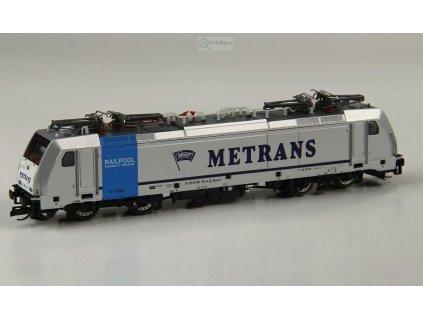 """ARCHIV TT - lokomotiva řady 186 """"Metrans"""" CZ / Tillig  04915"""