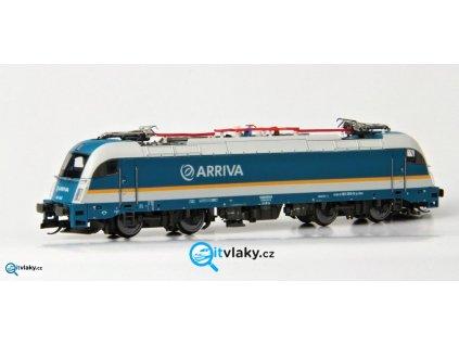 ARCHIV TT - Elektrická lokomotiva TAURUS E 183, ARRIVA / 04951 TILLIG