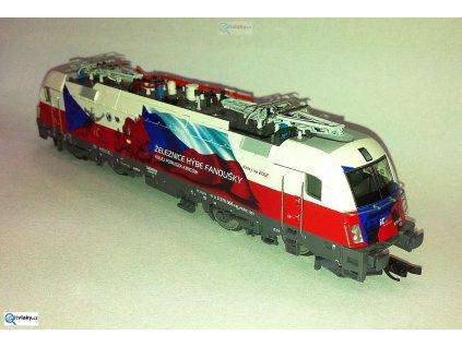"""ARCHIV TT - lokomotiva 370 006 """"ČESKO"""", PKP Taurus / Tillig 04959"""