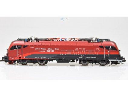 TT - lokomotiva Taurus 1216 229 Railjet ÖBB - ČD / Tillig 04961