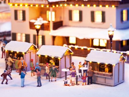 H0 - Na vánočním trhu / NOCH 12026