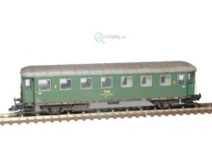 TT - Osobní vůz Be Rybák ČSD, stavebnice / SDV Model 12028