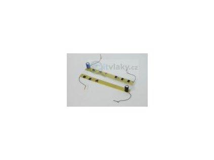 TT - DCC osvětlení pro vůz Rybák 7 oken / SDV Model 12068