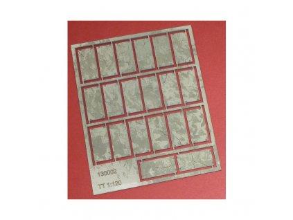 TT - Panely typ 2 - v balení 20ks / IGRA MODEL 130002