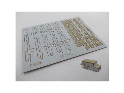 TT - Drátovody typ 2 - 10x komplet mechanických přestavníků / IGRA MODEL 130005