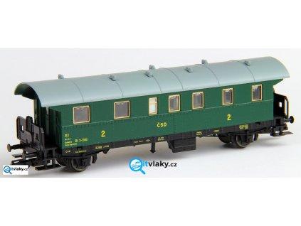ARCHIV TT - Osobní vůz 2. třídy, (ex BCi 29), ČSD / Tillig 13018