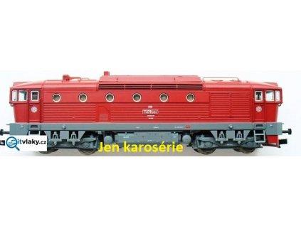 TT - ND karosérie Brejlovec T478.3174 ČSD pro 36250 / ROCO 130584
