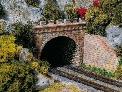 TT - Tunelový portál pro dvě koleje / Auhagen 13277