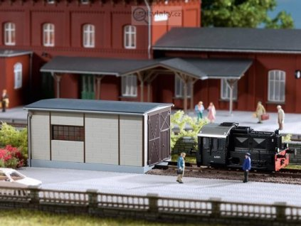 TT - Depo pro malé lokomotivy / Auhagen 13333