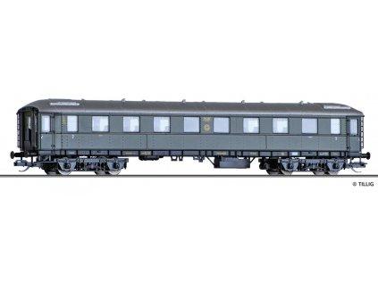 TT - Osobní vůz 2. třídy B4i, DRG / Tillig 13362