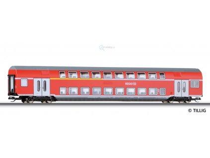 TT - Patrový vůz, 1./2. Třída, DABz 755, DB AG / Tillig 13803