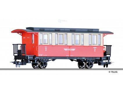 H0m - osobní vůz, NKB / TILLIG 13905