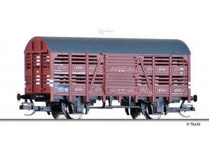 TT - Krytý nákladní vůz na přepravu zvířat V Altona, DRG / TILLIG 14813