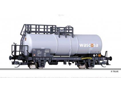 TT - Cisternový vůz Zckks, WASCOSA / Tillig 14976