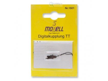 TT - digitální spřáhlo kompatabilní se spřáhly Tillig / 1501 SD modell EPV