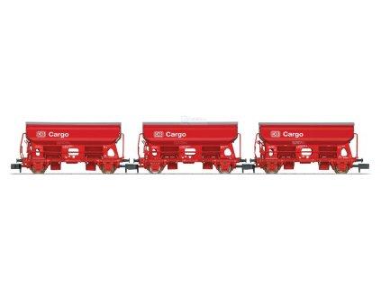 """N - set 3 výsypných vozů """"DB Cargo"""", DB AG / TRIX 15098"""