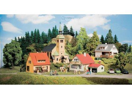 H0/TT - Startovní set vesnice Waldkirchen / Auhagen 15201