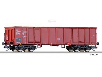 TT - Otevřený nákladní vůz Eas, nové číslo, ČSD / Tillig 15250-1