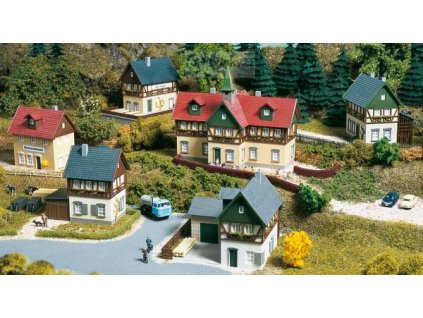 TT - Startovní set vesnice / Auhagen 15302