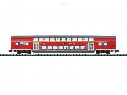 N - patrový vůz 1/2. třídy REGIO, DB AG s osvětlením / TRIX 15412
