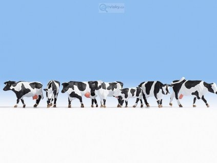 H0 - Černobílé krávy / NOCH 15725