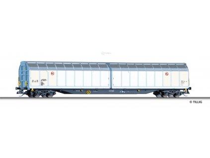 TT - vůz s posuvnou stěnou Habbins Rail Cargo Wagon , Ep. VI / Tillig 15811
