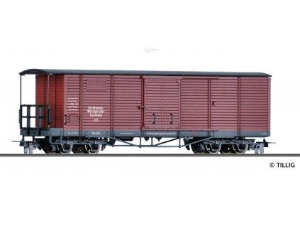 H0m - Krytý nákladní vůz gml, NWE / Tillig 15940
