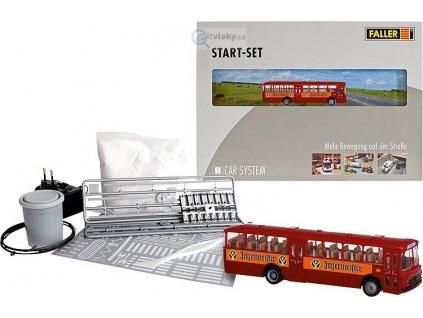 342724 h0 startset autobus mb o317k bus jagermeister car system faller 161498