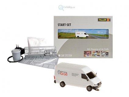 H0 Startset Mercedes-Benz-sprinter - CAR SYSTEM / Faller 161504