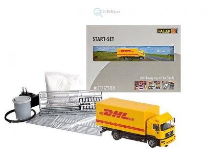 H0 startset nákladní automobil DHL MB / FALLER 161607