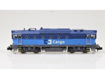 343729 akce n dcc zvuk lokomotiva 750 brejlovec cd cargo trix 16732