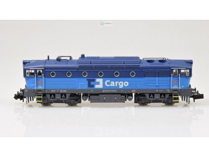 SLEVA! N - DCC/ZVUK - lokomotiva 750 Brejlovec - ČD Cargo / Trix 16732