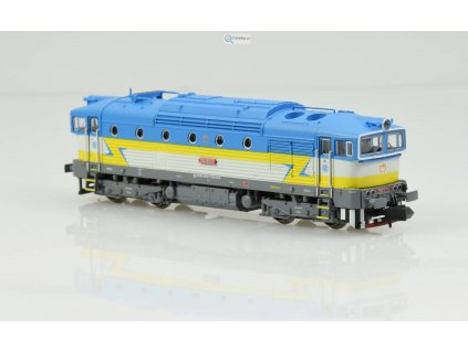 N - DCC/ZVUK - lokomotiva 750 Brejlovec ŽSSK / Trix 16733