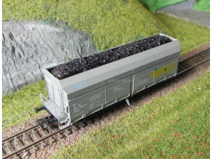 TT - Náklad uhlí do vozu Falls Tillig / ES Pečky 19603