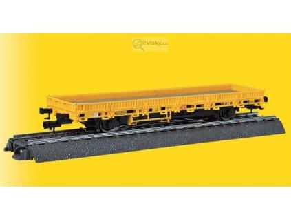 H0 AC - Nízkostěný vůz s pohonem žlutý - tři koleje DB / Viessmann 2316