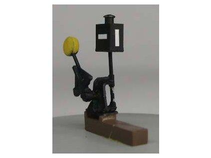 H0 - imitace vyhybkového návěstidla bez přestavníku/ Es Pečky 23311