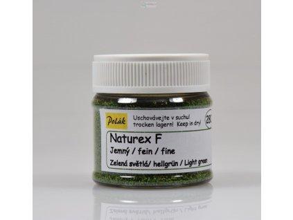 Naturex F  jemný - Zelená světlá / Polák model 2801