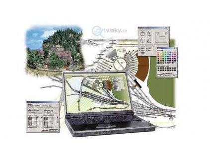 350131 software pro planovani kolejiste pc rail busch 2810