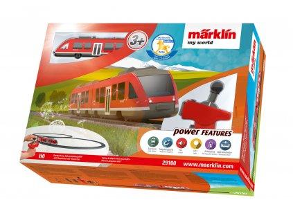 H0 - Dětský start set - jednotka LINT zvuk a kolejivo/ Marklin 29100